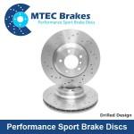 Brzdové kotúče MTEC performance, zadná náprava,Impreza, Forester, Legacy