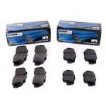 Brake pads Hawk HPS, rear, Wrx/Sti 01-
