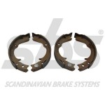 Hand brake pads SBS-Subaru Impreza STi 2.0 -2005