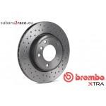 Brake dics BREMBO XTRA-front axle-Subaru Impreza Wrx/Sti 2.0 2001-2005-Brake sytem Brembo