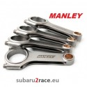 """Manley """"H"""" Beam connecting rods , Subaru Impreza, Forester, Legacy-engines EJ20 / EJ25 1995-2018"""