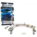 Zinc plated brake hoses, MTEC performance- Impreza 2.5 Wrx-Wrx/Sti 2008-