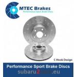 Brzdové kotúče MTEC performance 326 mm, predná náprava, Sti 2.5 05-17