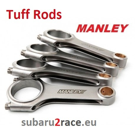 """Manley """"H"""" Beam Tuff Rods connecting rods , Subaru Impreza, Forester, Legacy-engines EJ20 / EJ25 1995-2018"""