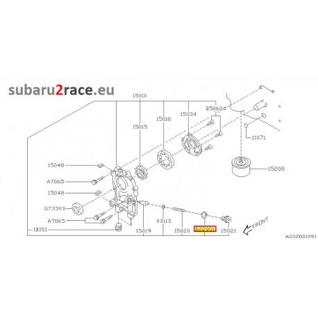 Washer,oil pump-Subaru