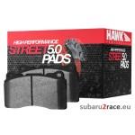 Brake pads Hawk HPS 5.0 front- Subaru Impreza WRX 2.0-2.5